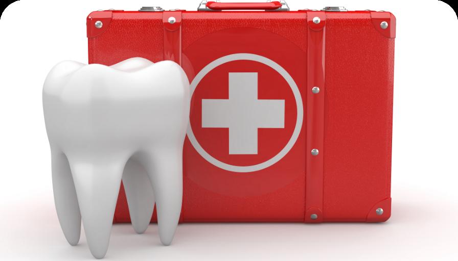 עזרה ראשונה בטיפולי שיניים